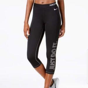 NWT Nike pro training tight leggings graph…